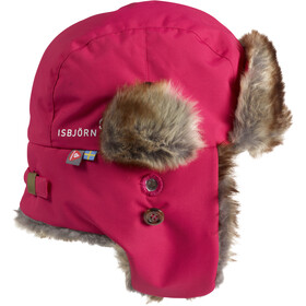 Isbjörn Squirrel Winter Cap Kinder hibiskus
